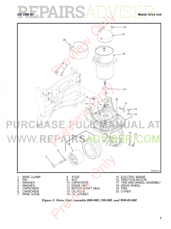 Hyster Class 3 For B454 Electric Motor Hand Trucks PDF Manual, Manuals for Trucks by www.repairsadviser.com